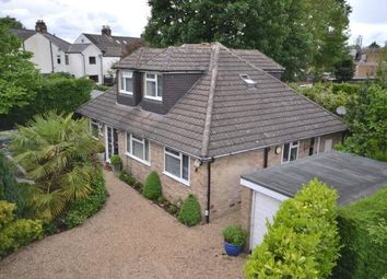 Thumbnail 4 bed detached bungalow for sale in Lower Guildford Road, Knaphill, Woking, Surrey