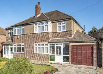 Thumbnail 3 bed semi-detached house for sale in Grange Road, Locksbottom, Orpington