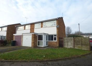 Thumbnail 3 bed semi-detached house for sale in Bredon Avenue, Binley, Coventry, West Midlands
