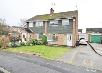 Thumbnail 3 bed semi-detached house for sale in The Paddocks, Aston, Sheffield