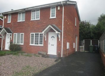 Thumbnail 2 bed semi-detached house to rent in Beckbury Drive, Stirchley, Telford