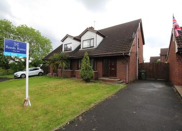 Thumbnail 3 bed semi-detached house for sale in Balmoral Crescent, Bangor