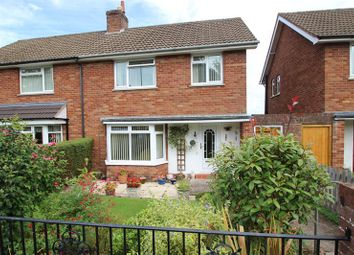 Thumbnail 3 bed semi-detached house for sale in Church Close, Ross-On-Wye