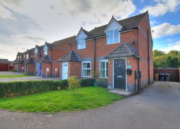 Thumbnail 2 bed semi-detached house for sale in Station Road, Bagworth, Coalville