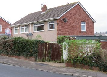 Thumbnail 3 bed semi-detached house for sale in Cornwall Rise, Barry