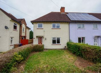 Thumbnail 3 bed end terrace house for sale in Mattocke Road, Hitchin