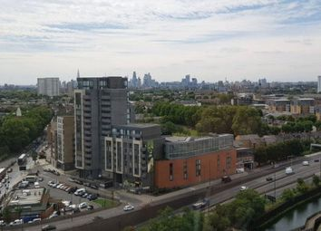 Thumbnail 2 bed flat for sale in Sky View Tower, 12 High Street, Stratford, London