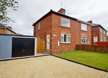 Thumbnail 2 bed semi-detached house for sale in Ash Crescent, Horden, Peterlee