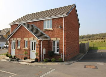 Thumbnail 2 bed semi-detached house for sale in Rhes Leith, Tondu, Bridgend.