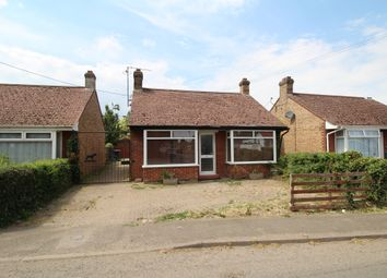 Thumbnail 3 bed detached bungalow for sale in Stow Road, Wiggenhall St. Mary Magdalen, King's Lynn