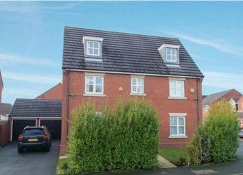 Thumbnail 5 bed detached house for sale in Davy Road, Abram, Wigan