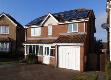 Thumbnail 4 bed detached house for sale in Glemham Drive, Rushmere St. Andrew, Ipswich