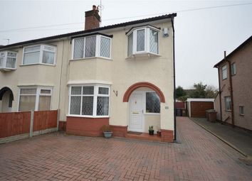Thumbnail 3 bed semi-detached house for sale in Neville Road, Bromborough, Wirral