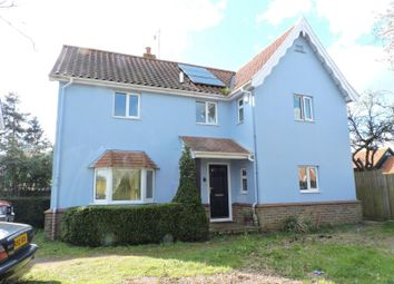 Thumbnail 3 bedroom detached house to rent in The Street, Hacheston, Woodbridge