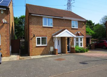 Thumbnail 2 bed semi-detached house for sale in Farriers Court, Orton Longueville, Peterborough