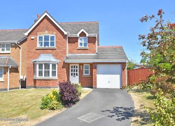 Thumbnail 3 bed detached house for sale in Welsh Close, Lightwood