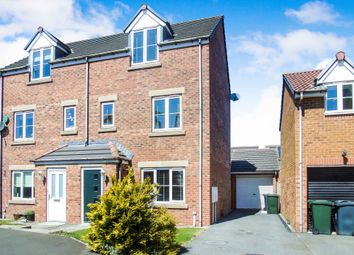 Thumbnail 3 bed town house for sale in Coquet Gardens, Wallsend