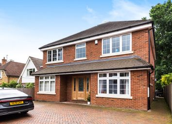 Thumbnail 4 bed detached house to rent in Lightwater, Surrey