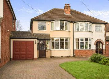 Thumbnail 3 bed semi-detached house for sale in Westwood Road, Sutton Coldfield, West Midlands