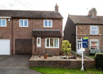 Thumbnail 3 bed semi-detached house for sale in Raskelf Road, Easingwold, York