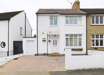 Thumbnail 3 bed semi-detached house to rent in Eversley Road, Surbiton
