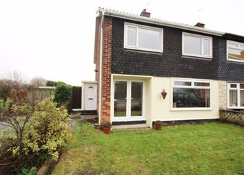 Thumbnail 3 bed semi-detached house to rent in Bawtry Close, Selby