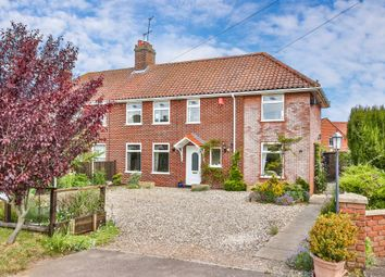 Thumbnail 3 bedroom semi-detached house for sale in Stocks Hill, Bawburgh, Norwich