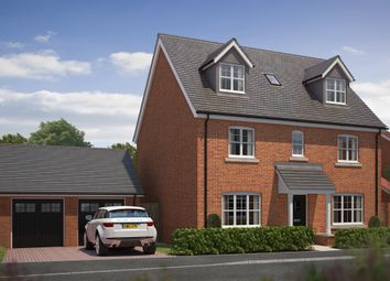 "Thumbnail 5 bed detached house for sale in ""The Beaumont"" at Colton Road, Shrivenham, Swindon"
