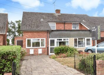 Thumbnail 3 bed semi-detached house for sale in Churchill Road, Didcot