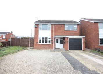 Thumbnail 4 bedroom detached house for sale in Hereford Close, Barwell, Leicester
