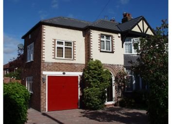 Thumbnail 4 bed semi-detached house for sale in Carlton Drive, Cheadle