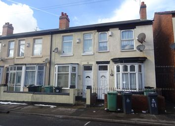 Thumbnail 2 bed property to rent in Kingsley Street, Walsall, West Midlands