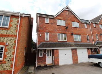 Thumbnail 4 bed town house for sale in Bronze Close, Beggarwood, Basingstoke