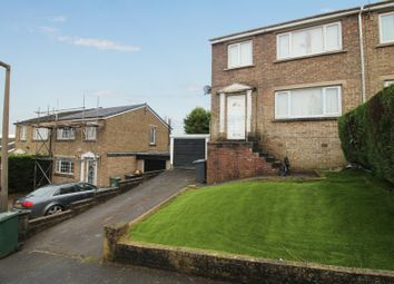 Thumbnail 3 bed semi-detached house for sale in The Chase, Keighley, West Yorkshire