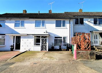 Thumbnail 3 bed terraced house for sale in Loriners, Crawley, West Sussex.