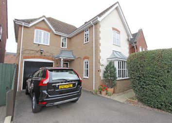 Thumbnail 4 bedroom detached house for sale in Southfields, Bourne