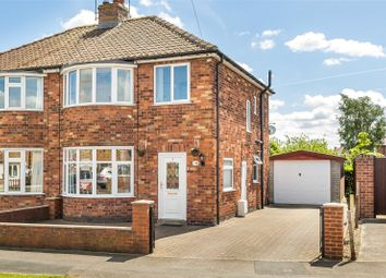Thumbnail 3 bed semi-detached house for sale in Highthorn Road, York