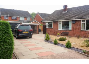 Thumbnail 2 bed semi-detached bungalow for sale in Mount Close, Nantwich