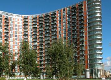 Thumbnail 2 bed flat to rent in New Providenec Wharf, 1 Fairmount Avenue, Canary Wharf, Blackwall, London