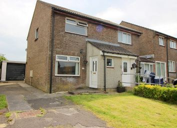 Thumbnail 2 bed semi-detached house for sale in The Spinney, Brackla, Bridgend.