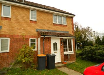 Thumbnail 1 bed end terrace house to rent in Heather Gardens, Bedford, Beds