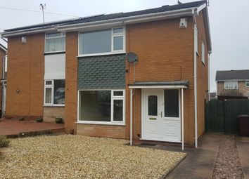 Thumbnail 3 bed semi-detached house to rent in Bracken Way, Rugeley