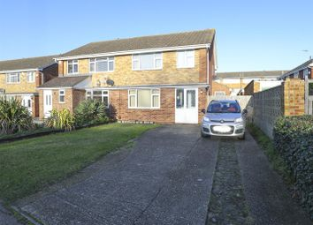 Thumbnail 3 bed semi-detached house for sale in Stanhope Avenue, Sittingbourne