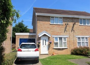 Thumbnail 2 bed semi-detached house for sale in Austen Drive, Worle, Weston-Super-Mare, North Somerset.