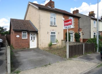Thumbnail 2 bed semi-detached house for sale in York Road, Ipswich