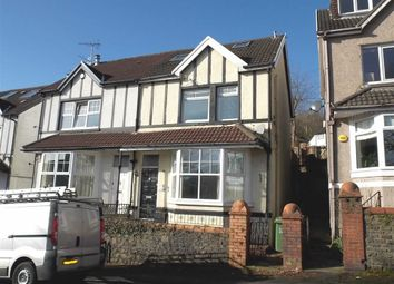 Thumbnail 3 bed semi-detached house to rent in Lan Park Road, Pontypridd