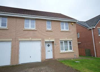 Thumbnail 4 bedroom semi-detached house to rent in Brodie Drive, Baillieston, Baillieston, Glasgow