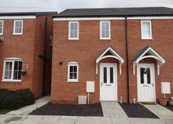 Thumbnail 2 bed semi-detached house to rent in Rondel Street, Shrewsbury