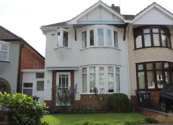 Thumbnail 3 bed semi-detached house for sale in Charlbury Crescent, Birmingham