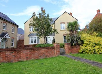 Thumbnail 4 bed detached house for sale in Charmind Walk, Winterbourne Road, Swindon